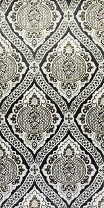 Tapete Barock Schwarz : 70er barock tapete in schwarz und gold vintage wallpaper ~ Yasmunasinghe.com Haus und Dekorationen