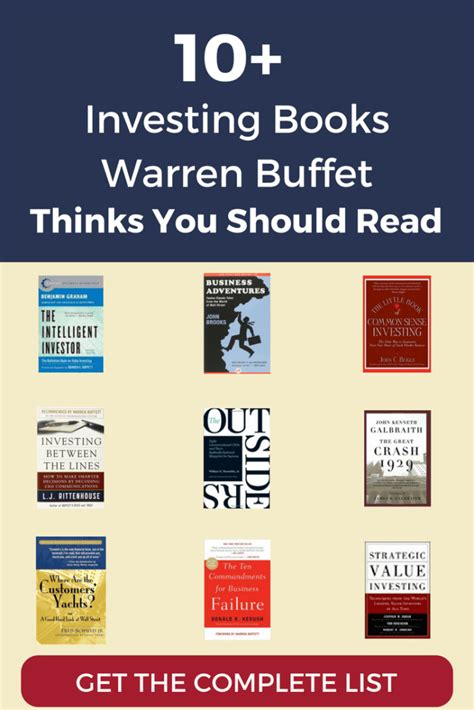 essential warren buffett reading list complete list