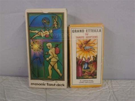 vintage deck  tarot cards   france