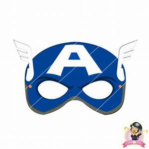 childrens printable avengers captain america mask simply With avengers mask template