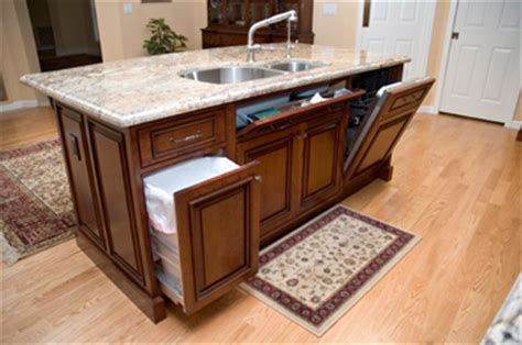 kitchen island with sink and dishwasher and compact and high function kitchen island