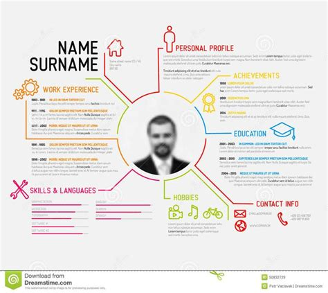 Original Resume Ideas by 25 Best Ideas About Resume Templates On