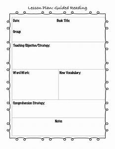 best 25 guided reading template ideas on pinterest With tutor lesson plan template
