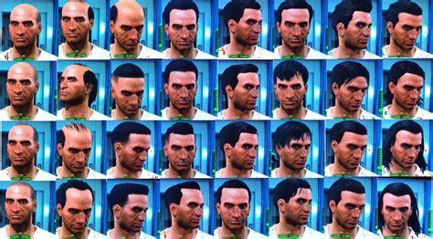 fallout  list   hair  beard customization