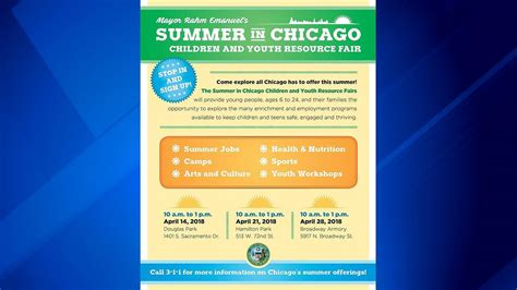 city of chicago launches summer and recreation fair 386 | 3342592 1280x720