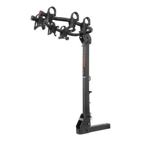 hitch mounted bike rack curt premium hitch mounted bike rack 18063 the home depot
