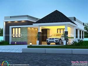 3, Bedrooms, 1644, Sq, Ft, Single, Floor, Modern, Home, Design