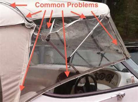 house boat zippers repair bimini boat canvas clear
