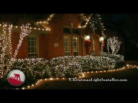 christmas lights from dallas on the ground we install lights locally don t forget the ground stake lighting
