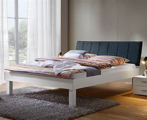 Bett Mit Komforthöhe : modernes bettgestell 160x200 mit polsterkopfteil sierra ~ Indierocktalk.com Haus und Dekorationen