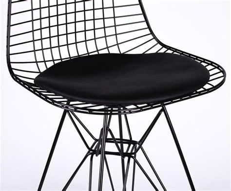 mesh bar stools wire metal mesh black bar stool with seat pad furniture 4083