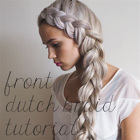 front braid tutorial kirsten zellers