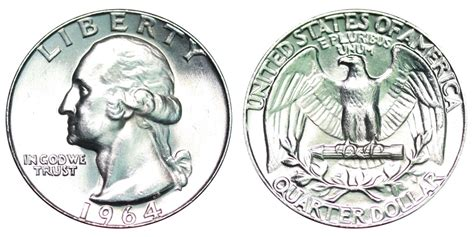 how much is a 1964 quarter worth 1964 washington quarters silver composition value and prices