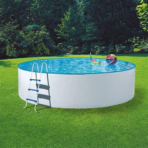 pool 5m durchmesser mypool poolset splash durchmesser 360 cm h 246 he 110 cm 11 000 l wei 223 bauhaus
