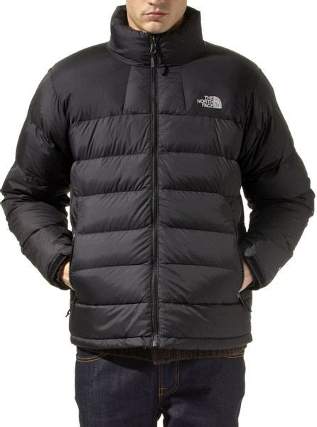 north face massif goose  coat  black  men lyst