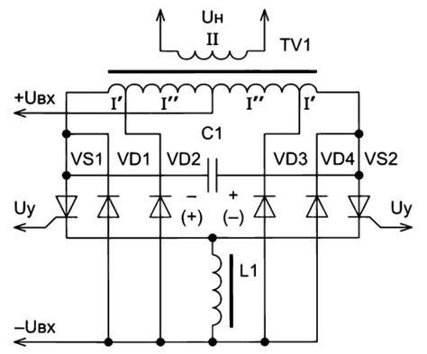 Регулятор мощности с улучшенной защитой от дисбаланса индуктивной нагрузки