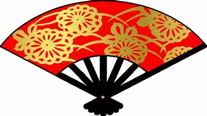 Oriental Fan Clipart Asian Chinese Cliparts Clip