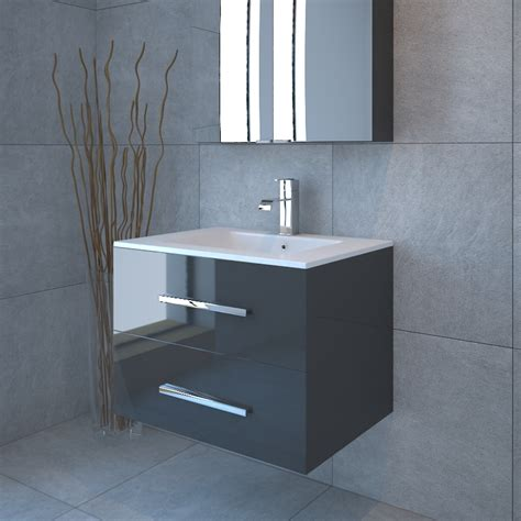 towel designs for the bathroom sonix 800 2 draw wall hung bathroom vanity unit grey buy