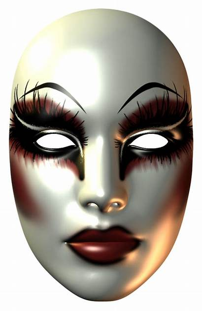 Mask Female Carnival Clipart Clip Transparent Face