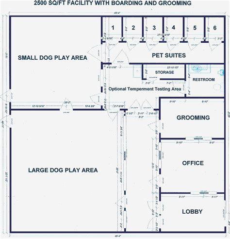dog daycare design  love floor plans pinterest