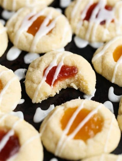 1/2 cup butter 1/2 cup granulated sugar 1/3 cup brown sugar, packed 1/2 teaspoon grated lemon zest 1 large egg 1. Lemon Thumbprint Cookies | Holiday Baking | Christmas Cookies