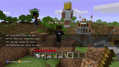 Official Trailer Minecraft Xbox 360 Edition Youtube