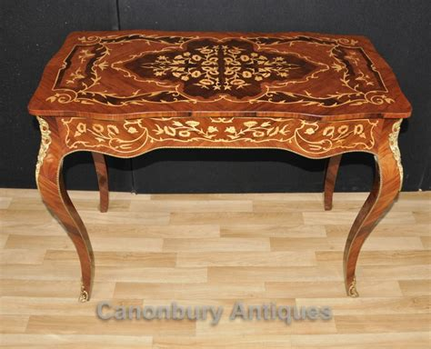 table bureau louis xvi desk bureau plat writing table marquetry