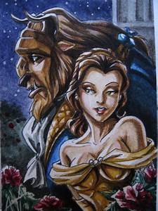 Beauty and the Beast Card by Amelie-ami-chan on DeviantArt
