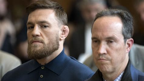 Handcuffed Conor Mcgregor Appears In Court On Assault