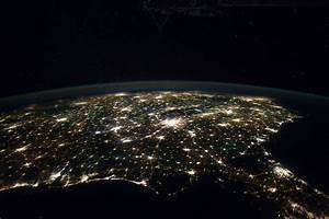 NASA Planet Earth From Space at Night - Pics about space