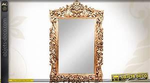 Grand Miroir Baroque : grand miroir style ancien dor 1 22 m tre ~ Teatrodelosmanantiales.com Idées de Décoration