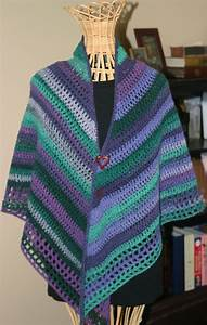 Easy Crochet Shawl By Pia Lind U00e9n