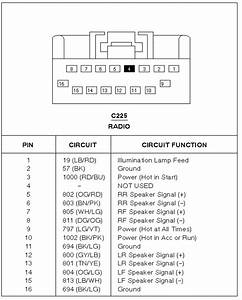 2000 F150 Wiring Diagram : 2000 ford f150 ext cab with a factory radio yl3f 18c869 ~ A.2002-acura-tl-radio.info Haus und Dekorationen