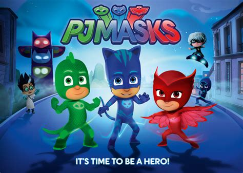 'pj Masks' Debuts On Disney Channel