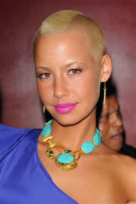 unique and latest amber rose new hairstyle