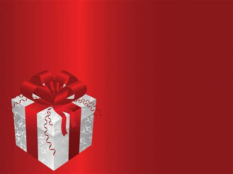 gift box powerpoint templates objects