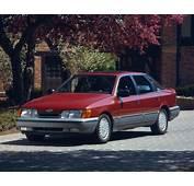 1988 Merkur Scorpio Sedan  Ford Cars Vehicles