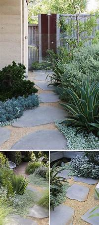 landscape stepping stones 10 Landscaping Ideas For Using Stepping Stones In Your ...
