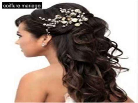 coiffure mariage 2014 coiffure mariage cheveux mi chignons et mariage id 233 es cheveux