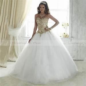 Popular Gold Sweet 16 Dresses-Buy Cheap Gold Sweet 16 ...