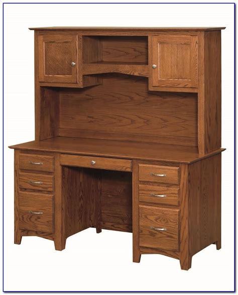 oak desk with hutch solid oak corner desk with hutch desk home design