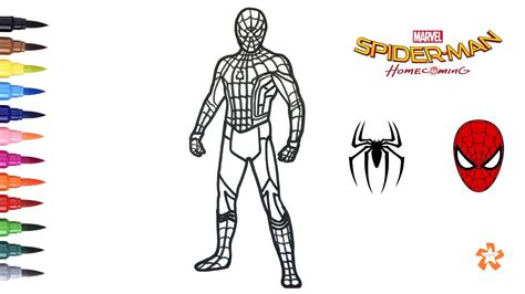 Print Out Coloring Pages Spiderman