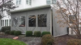 Drop Curtains Enclosure Kreider 39 Canva Service Cozy Enclosed Back Porch Ideas