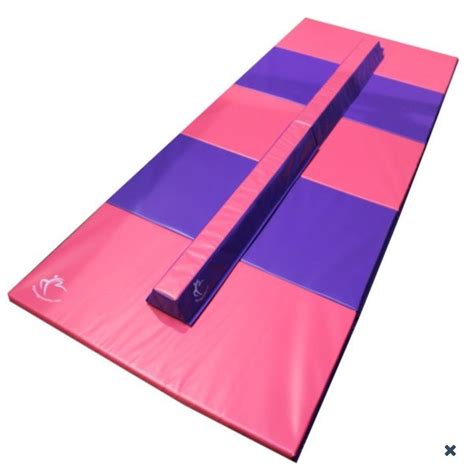 gymnastic mats for my home gymnastics pink and purple folding mat and beam