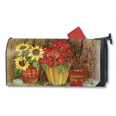 flowers mailwraps   magnetic mailbox covers crw
