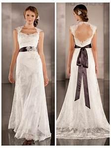 luxurious sheath wedding dress overlay lace illusion With keyhole wedding dresses