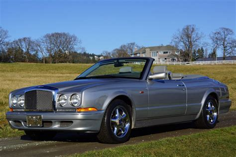 1999 Bentley Azure Convertible Silver Pearl Rbm Cars