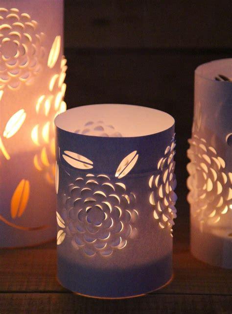 diy paper lanterns  beautiful  flowers design