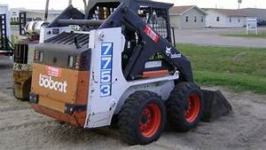 Bobcat 7753 Skid Steer Loader Service Repair Workshop