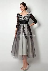 Robe De Mariée Champagne : robe de m re de mari e manches longues dentelle noir ~ Preciouscoupons.com Idées de Décoration